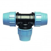 Compression fittings for PE pipe